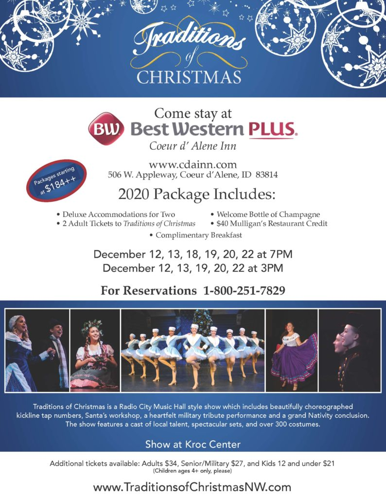 2020 TRADITIONS OF CHRISTMAS FLYER