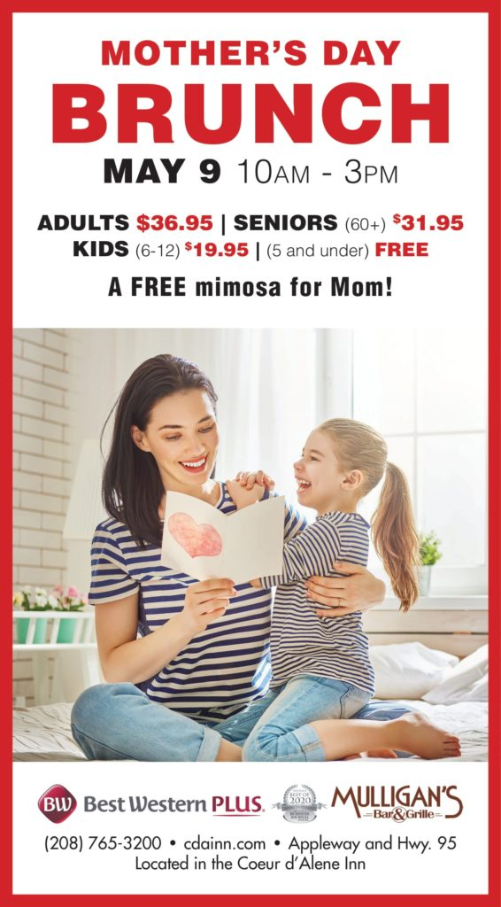 Updated Mother's Day flyer